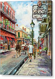 French Quarter Antiques Acrylic Print