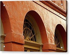Acrylic Print featuring the photograph French Quarter Arches by KG Thienemann