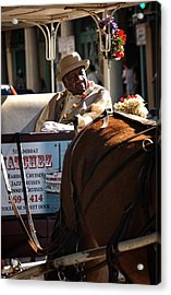 French Quarter Carriage Acrylic Print