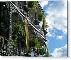 French Quarter Iron Work Acrylic Print