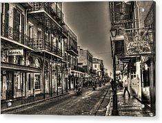 French Quarter Ride Acrylic Print