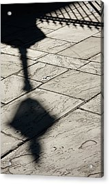 French Quarter Shadow Acrylic Print by KG Thienemann