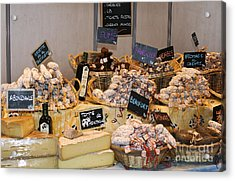 French Sausage And Cheese Acrylic Print