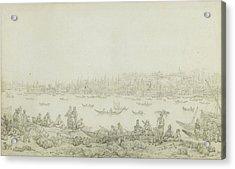 French Seraglio Point Seen From Galata Acrylic Print