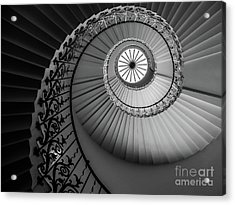 French Spiral Staircase 1 Acrylic Print