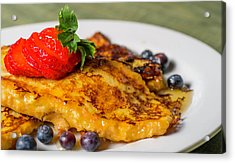 Acrylic Print featuring the photograph French Toast by Ryan Smith