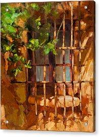 French Window Acrylic Print by Becky Joy