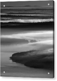 Frenchman's Bay Recursion Acrylic Print