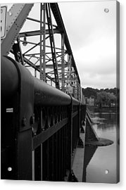 Frenchtown Bridge Acrylic Print by Amanda Vouglas
