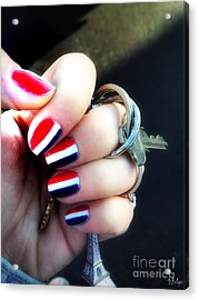 Frenchy Nails Acrylic Print