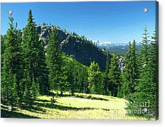 Acrylic Print featuring the photograph Fresh Air In The Mountains Photo Art by Sharon Talson