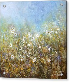 Fresh As A Daisy Acrylic Print