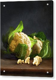 Fresh Cauliflower Acrylic Print