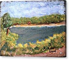 Fresh Creek Acrylic Print
