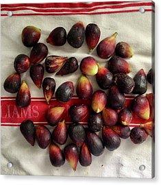 Fresh Figs Acrylic Print by Kim Nelson