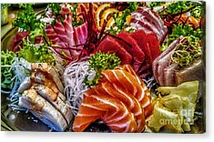 Fresh Fish Acrylic Print