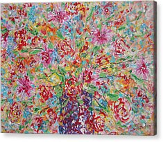 Fresh Flowers. Acrylic Print