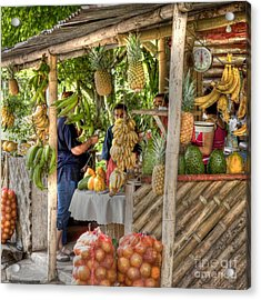 Fresh Fruits For The Day Acrylic Print by Heiko Koehrer-Wagner