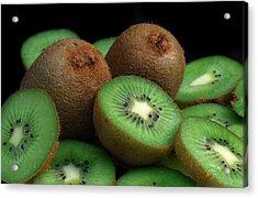 Fresh Kiwi Acrylic Print by Terence Davis