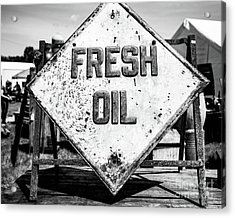 Fresh Oil Acrylic Print
