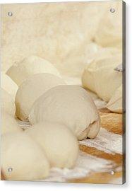 Fresh Pizza Dough Acrylic Print