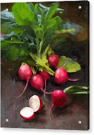 Fresh Radishes Acrylic Print