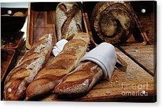 Freshly Baked Bread By Kaye Menner Acrylic Print by Kaye Menner