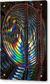 Fresnel Lens Point Arena Lighthouse Acrylic Print