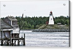 Friar's Head Lighthouse Acrylic Print