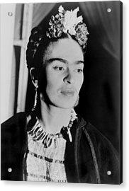 Frida Kahlo 1907-1954, Mexican Artist Acrylic Print by Everett