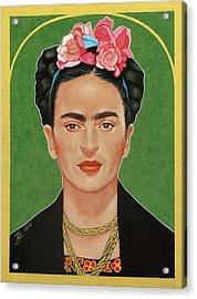 Frida Kahlo Acrylic Print by Jovana Kolic