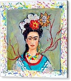 Fridamania Acrylic Print