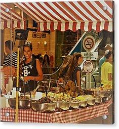 Friday Market Day Acrylic Print