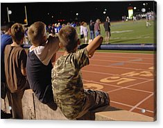 Acrylic Print featuring the photograph Friday Night Lights by Karen Musick
