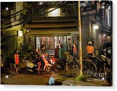 Friday Night Restaurant Vietnam  Acrylic Print