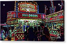 Fried Oreos Acrylic Print by Jeff Breiman
