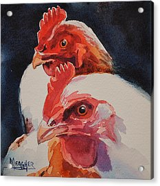 Friend-emies Acrylic Print by Spencer Meagher