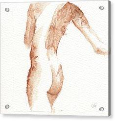 Friend Three Acrylic Print by Cheryl Irwin