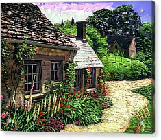 Friendly Cottage Acrylic Print