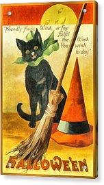 Friendly Fairy Wish Acrylic Print