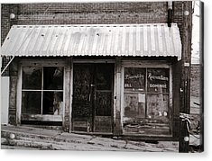 Friendly Recreation- Utica Mississippi Acrylic Print by Doug Duffey