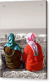 Friends, Morocco Acrylic Print