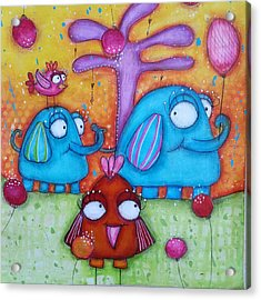 Friends And Family Acrylic Print