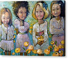 Friends Acrylic Print