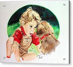 Friend's Forever Acrylic Print by Tobi Czumak