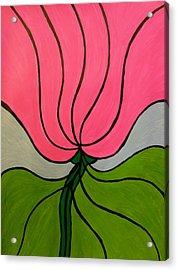Friendship Flower Acrylic Print