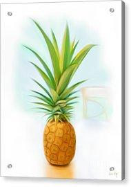 Friendship Pineapple Acrylic Print