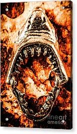 Frightening Marine Scene Acrylic Print