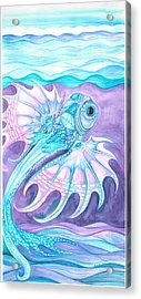 Frilled Fish Acrylic Print