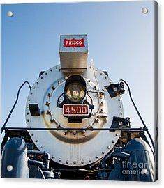 Frisco Meteor On Route 66 In Tulsa Oklahoma Acrylic Print